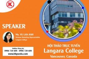 Hội Thảo Trực Tuyến | Langara College | 15-01-2021