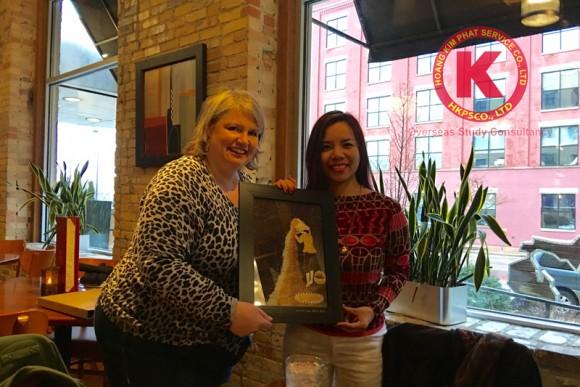 Giám đốc HKPS Edu – Bà Tân Thị Kim Khanh sang thăm và làm việc cùng Grand Valley State University tại thành phố Grand Rapids, Michigan, Hoa Kỳ